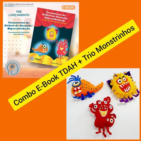 Combo E-book TDAH + Trio Monstrinhos