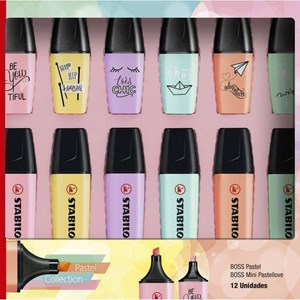 Pastel Collection STABILO BOSS PASTEL + MINI PASTELLOVE