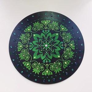 Mandala Verde Floresta