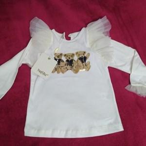 Blusa Silk 3 ursos