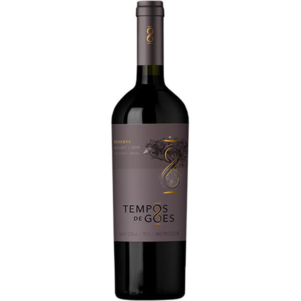 Vinho Tinto Tempos de Góes Malbec Reserva 2019 - 750ml