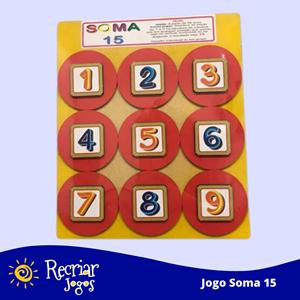 Jogo Soma 15