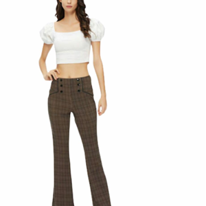 calça feminina flare