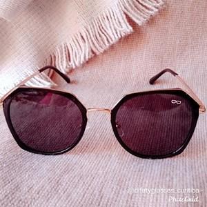 Óculos de Sol Hexagonal Difaty Polarizado