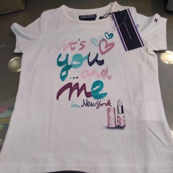 T-Shirt Tommy Hilfiger- Feminina