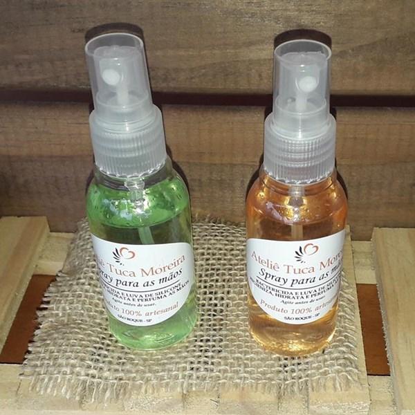Spray para as mãos - Bactericida e Hidratante