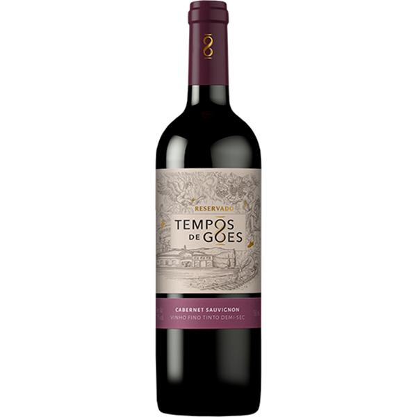 Vinho Tinto Tempos de Góes Reservado Cab. Sauvignon Demi-Sec - 750ml