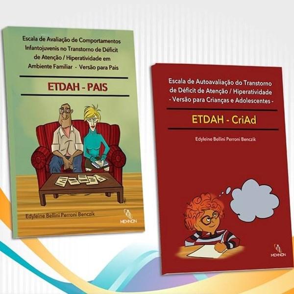 KIT Manual de TDAH em Ambiente Familiar e de Auto avaliação de TDAH para crianças e adolescentes