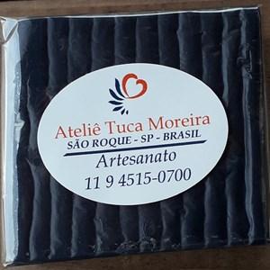 Sabonete de Argila Preta artesanal