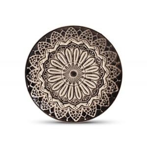 Prato de Sobremesa Tribal - Cerâmica