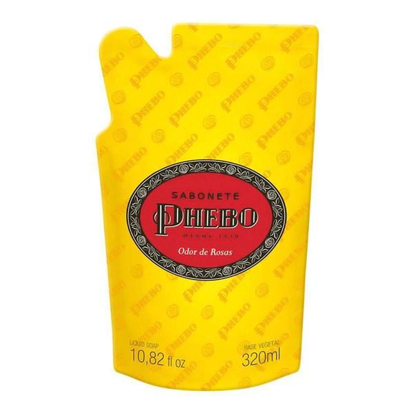 Sabonete Líquido Phebo Odor de rosas- Refil