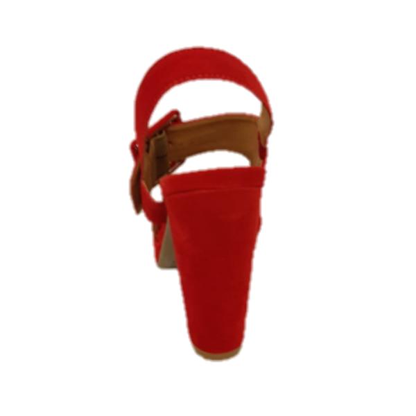 sandalia salto feminina