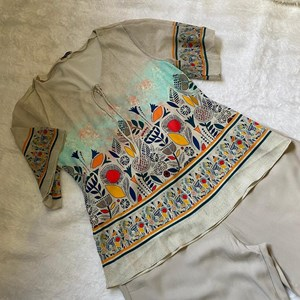 blusa com manga