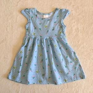 Vestido Verão Azul Flores TAM6