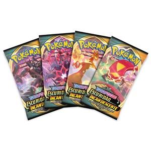 Booster Pokémon Espada e Escudo 3 Escuridão Incandescente