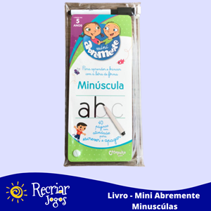 Livro: Mini Abremente Minúsculas