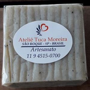 Sabonete de Argila Branca artesanal