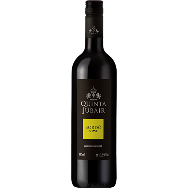 Vinho Tinto de Mesa Quinta Jubair Bordô Suave - 750ml